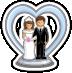 Wedding Cake Topping-icon