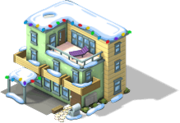 Loft Apartments snow