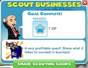 Scout Businesses complete