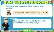 Remote franchise