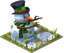 Giant Snowman Mansion Level 5-SW