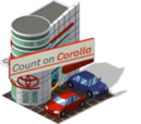 Corolla Megaplex