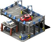 Parking Garage 2-SW