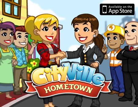 Announce cityville hometown
