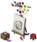 Artist's Easel-icon