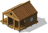 Image result for 100 x 100 image of a log cabin