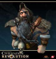 Grey Wolf barbarian