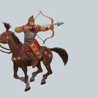 Saka Horse Archer concept art