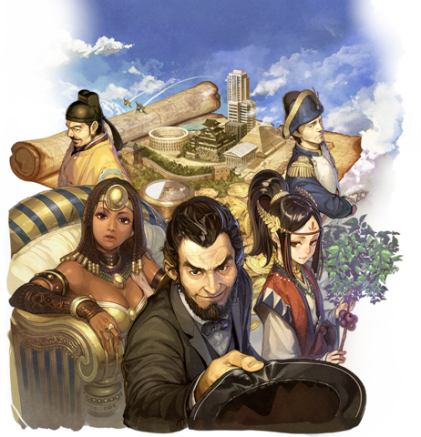 File:Civilization Revolution 2 Plus Japanese key art.png