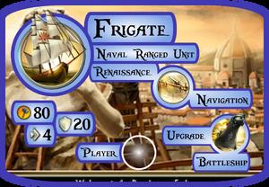 Frigate Info Card (Civ5)