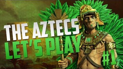 Civilization 6 Montezuma The Aztecs Let's Play Pt. 1 (Release gameplay)