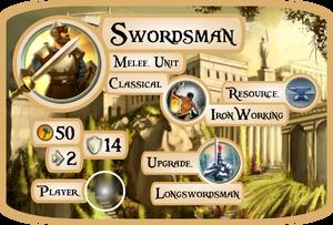 Swordsman Info Card (Civ5)