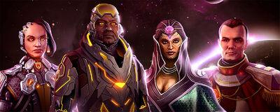 Starships leaders