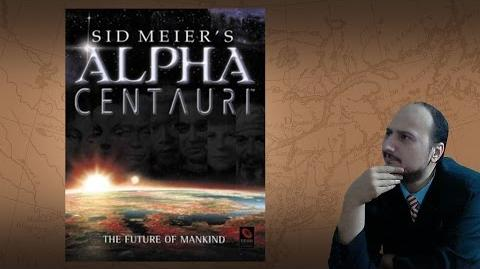 """Gaming History Sid Meier's Alpha Centauri """"The greatest story ever played"""""""