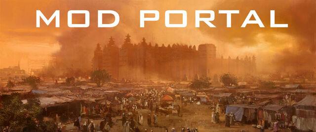 File:Mod portal banner.jpg