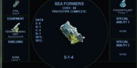 Sea formers (SMAC)