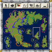 Map of Ultima X scenario (CTP2)