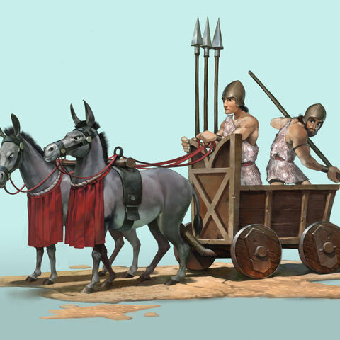 War-Cart concept art