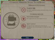 Failed Steal Tech Boost (Civ6)