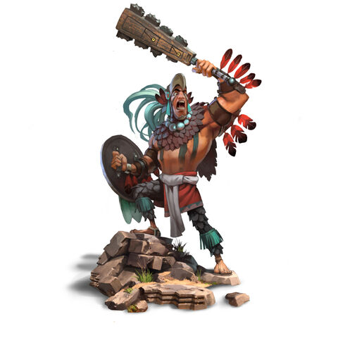 Eagle Warrior concept art