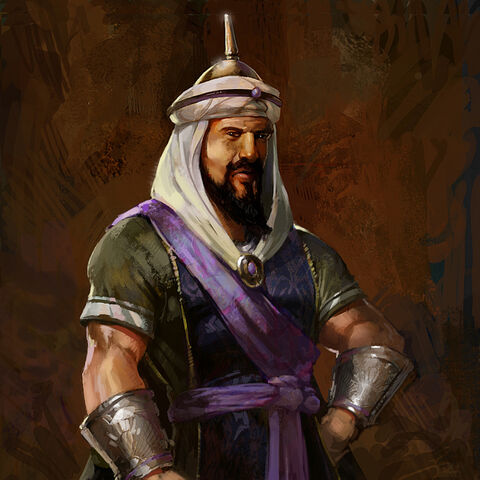 Concept art of Saladin