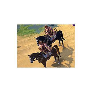 A Barbarian Horse Archer