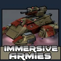 Immersive Armies Logo