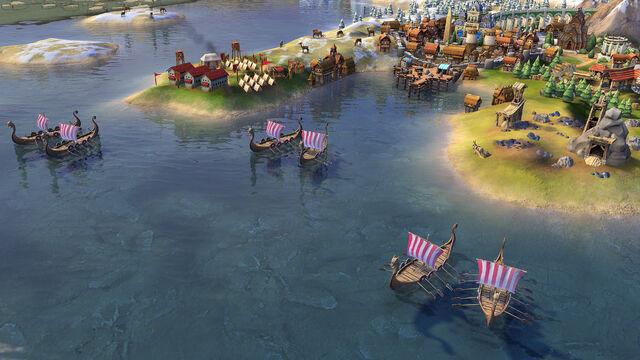 File:Civ 6 Viking Longships.jpg