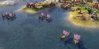 Viking Longship (Civ6)