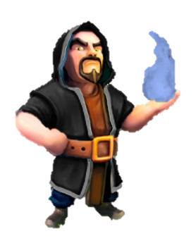 Wizard lvl 6Wizard Clash Of Clans Wallpaper