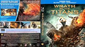 Wrath of the Titans (Blu-ray) art 1 front and back