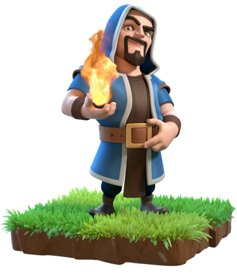 Clash of Clans October 2016 Balancing Update, Clash of Clans Wizard, Clash of Clans Wizard Level 7