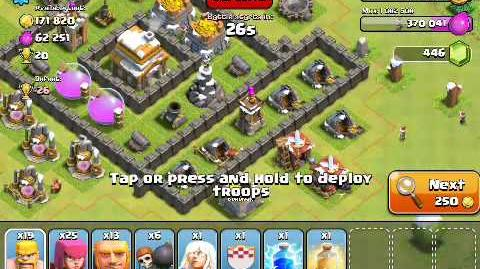 3-17 Let's Play Clash of Clans - Healer is..