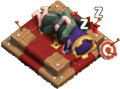 Archer Queen Altar Sleeping