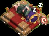 Archer Queen Altar Sleeping