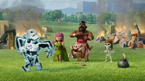 Clash of Clans Shocking Moves (Official TV Commercial)