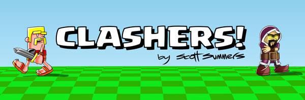 Clashers Comic Banner
