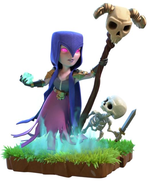 Witch | Clash of Clans Wiki | FANDOM powered by Wikia