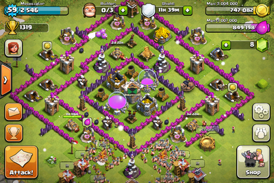 COC Lvl 8 TH Farming