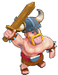Barbarian Clash Of Clans Level 5