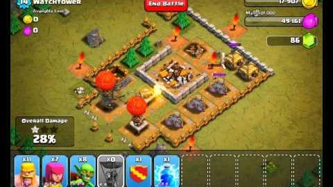 Clash of Clans Level 17 - Watchtower