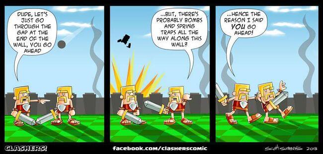 Clashers Comic 28