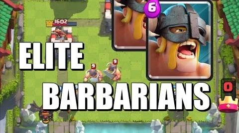 Elite Barbarians Gameplay, Review and Strategy - Clash Royale-0