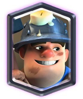 Kartu Legendary Clash Royale Miners