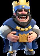 Blue King Laughing