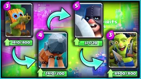 "ALL NEW CARDS GAMEPLAY! • Clash Royale! • ""Dart Goblin"" ""Battle Ram"" ""Goblin Gang"" ""Executioner"""