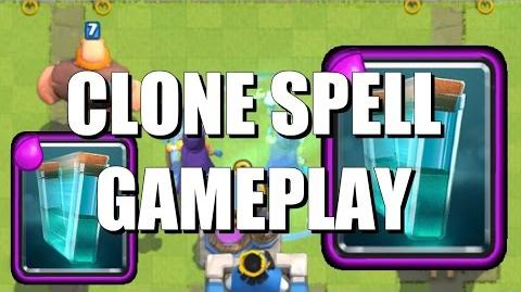 Clone Spell In Action - Clash Royale