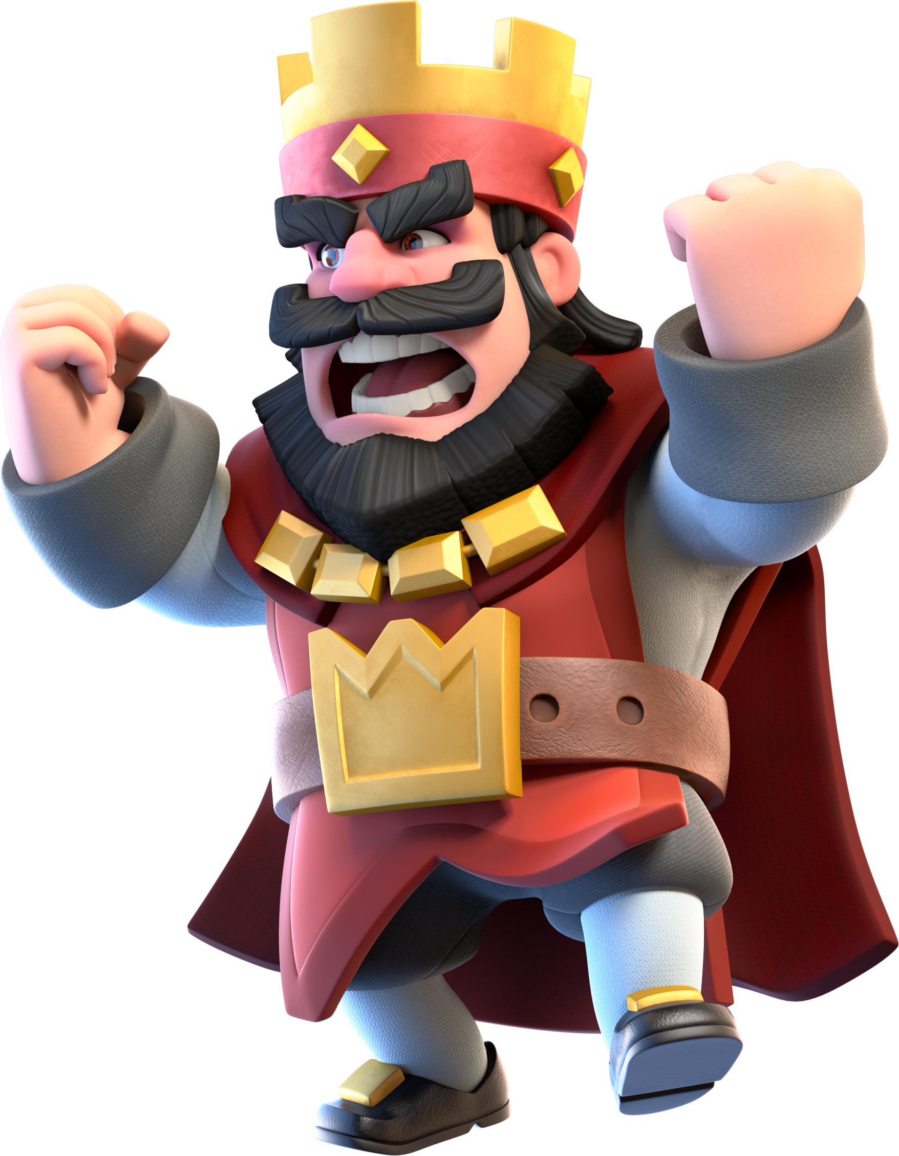 image red king angry png clash royale wiki fandom
