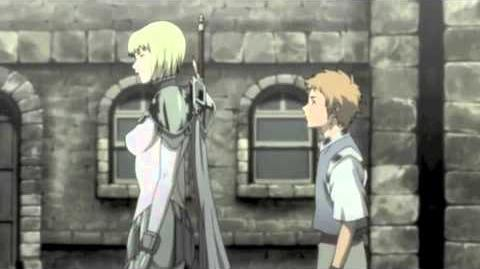 Claymore Raki meets Clare