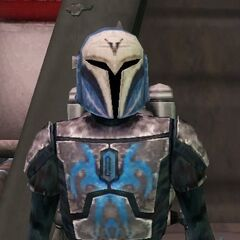 Malek's tenth armor, whichwas his Zenolian Mandalorian Armor. (300 ABY-322 ABY)